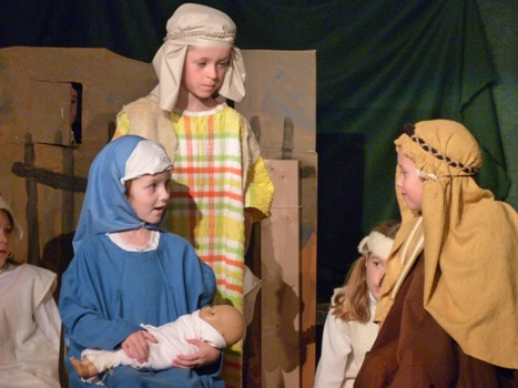 St Mary's The Little Shepherd Production