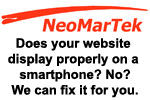We create websites that work properly on smartphones and tablets