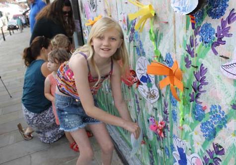 Henley in Bloom 2014 - Community Meadow Window