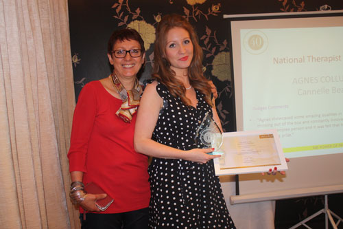 Cannelle Beauty therapist wins UK Therapist of the Year