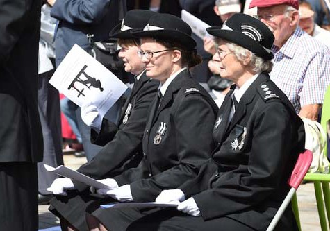 drumhead service to mark centenary of ww1 outbreak henley herald news. Black Bedroom Furniture Sets. Home Design Ideas