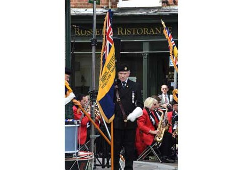 drumhead service to mark centenary of ww1 outbreak henley herald. Black Bedroom Furniture Sets. Home Design Ideas