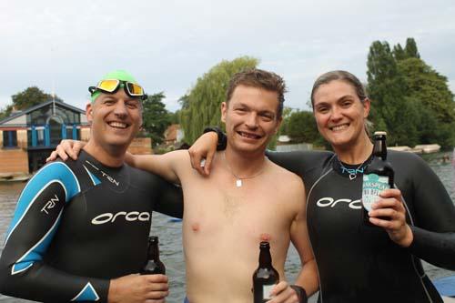 Club to Pub Swim 2014