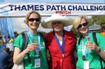 Thames Path Challenge 2014