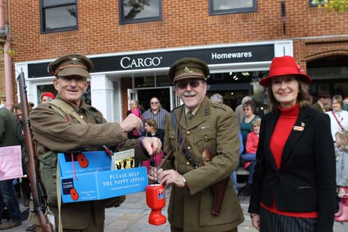 Poppy Appeal Launch Henley 2014
