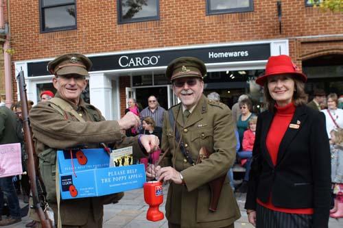 Poppy Appeal Launch Henley 2014