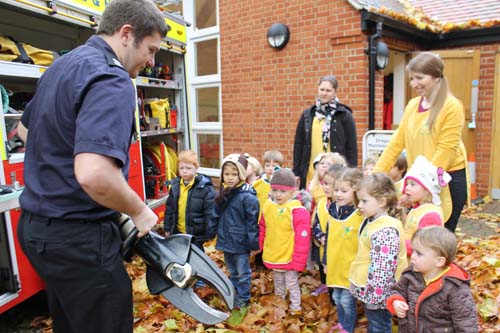 Henley Firefighters at Dragonflies Montessori