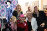 Zandra Rhodes at Lady Sew and Sew in Henley