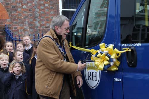 Rupert House School Minibus