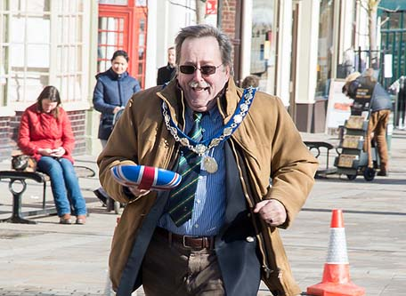 Mayor of Henley Pancake Race 2015