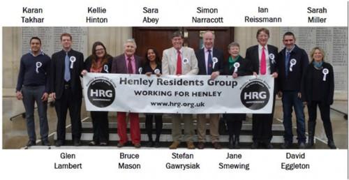 HRG Town Councillors 2015