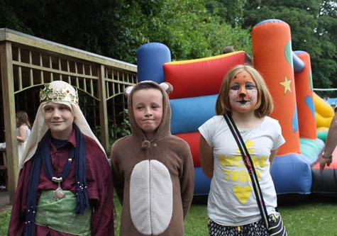 Badgemore School Fete 2015