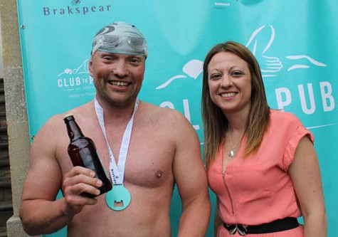 Club to Pub Swim 2015