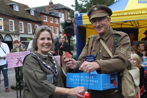 Henley Poppy Appeal Launch 2015
