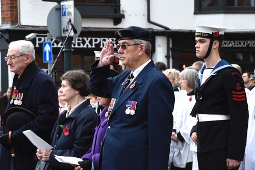Henley Remembrance Parade 2015