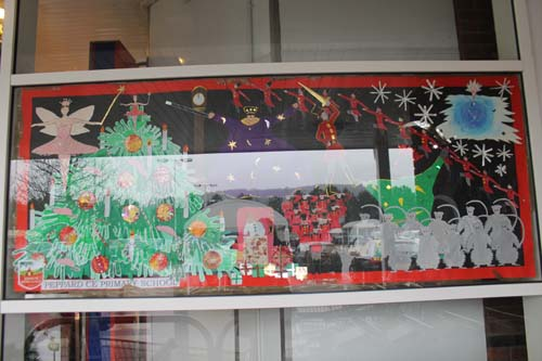 Tesco Henley Christmas Window Competition