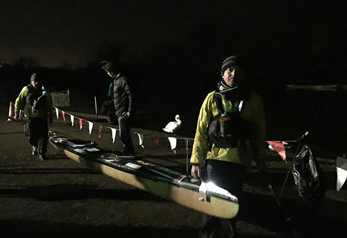 Devizes to Westminster Canoe Race - Forget Me Not Team