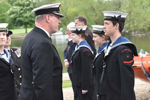 Henley Sea Cadets Royal Navy Parade