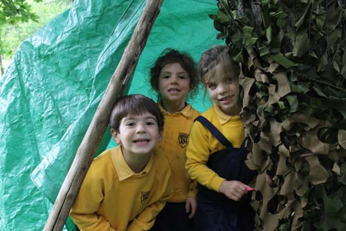 Rupert House School Den Building