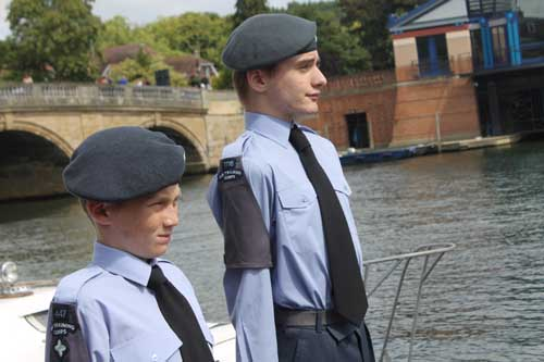75th Anniversary Air Cadets Torch Relay