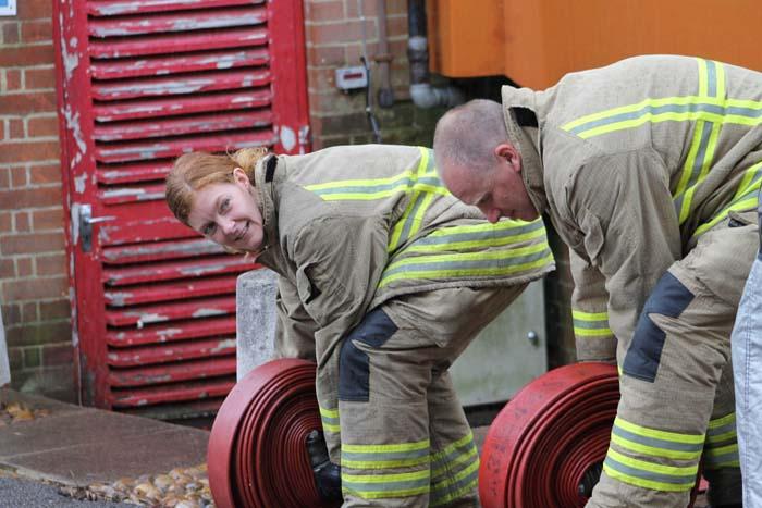 Bec Henley Firefighter