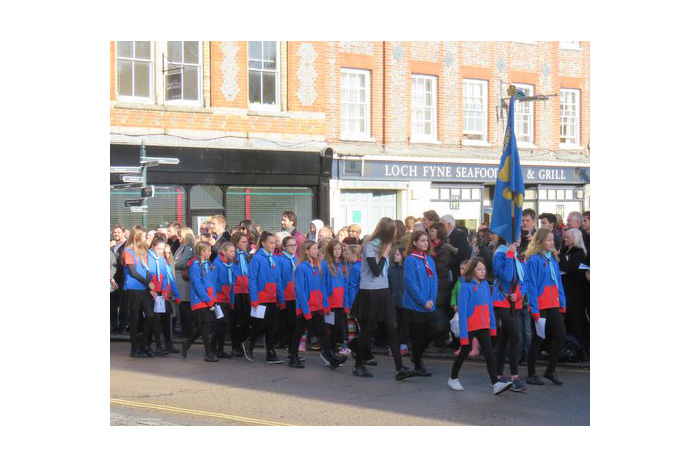 Remembrance Parade Henley