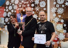 Henley Christmas Window Competition Sue Ryder