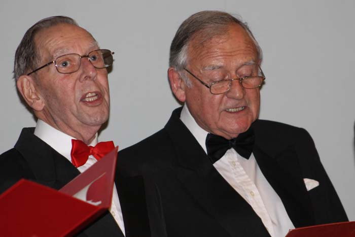 Living Advent Calendar - 9 December Phyllis Court Club Singers