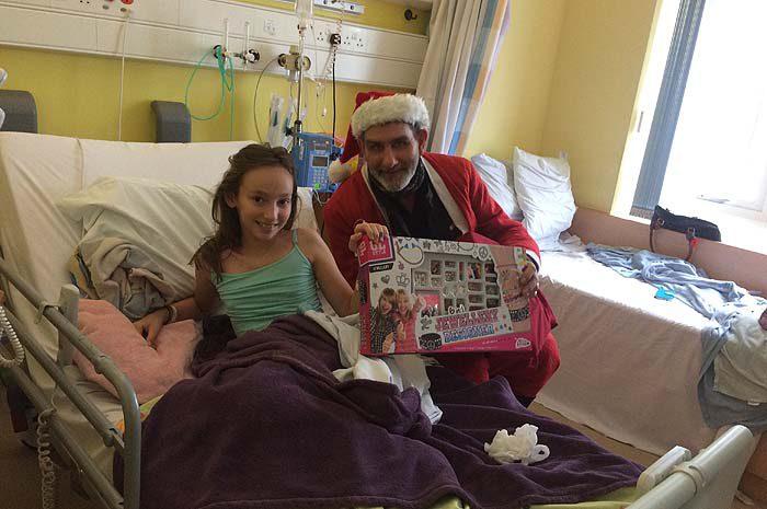 Gainsborough Residents' Association Toy Run to John Radcliffe Hospital
