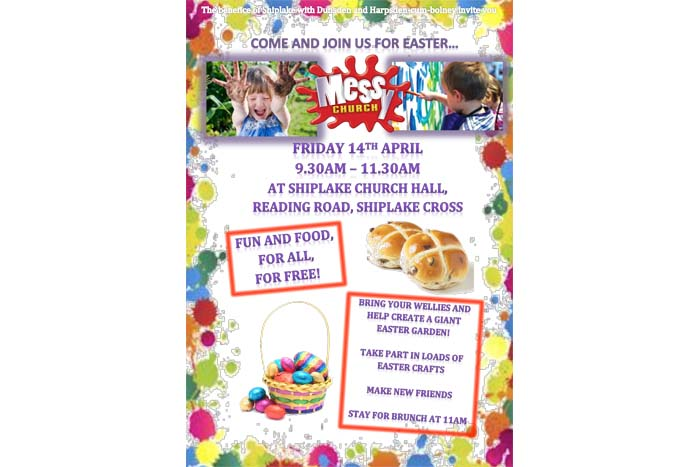 Easter Messy Church On Good Friday Henley Herald