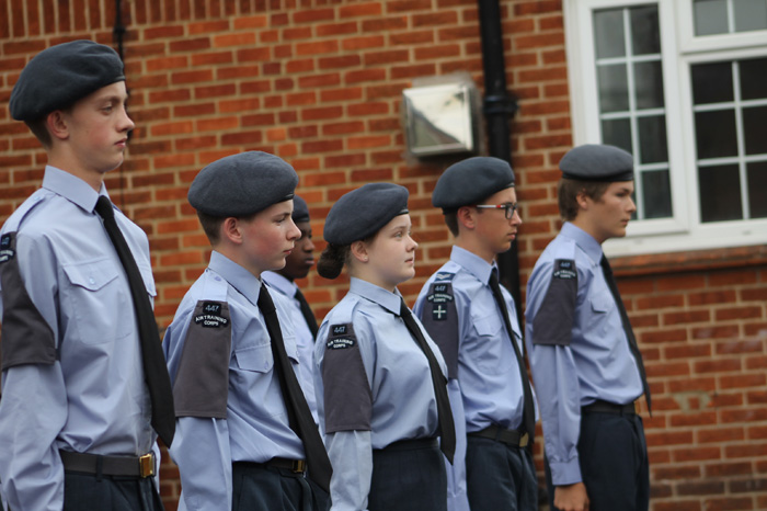 Henley Air Cadets Inspection