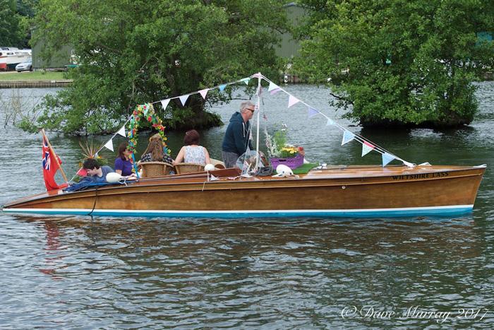 Chelsea Fringe Floral Flotilla