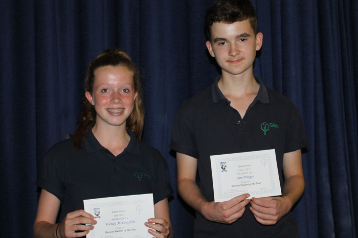 Gillotts School KS3 Awards
