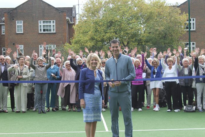 Tim Henman Phyllis Court Tennis Courts