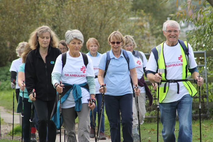 Thames Valley Air Ambulance Sponsored Nordic Walk