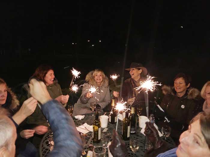 Phyllis Court Fireworks 2017