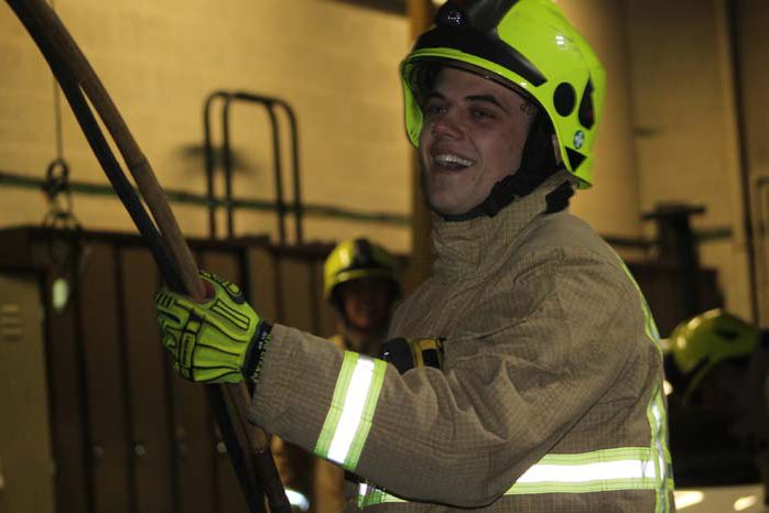 Living Advent Calendar 9 Dec - Henley Fire Station