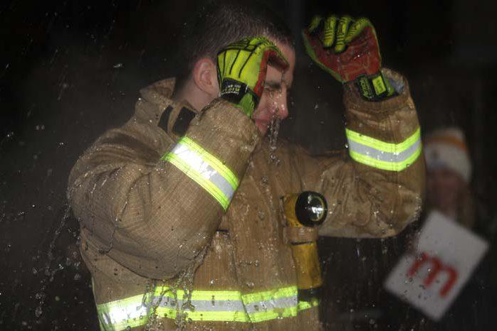 Living Advent Calendar 9 Dec - Henley Fire Station