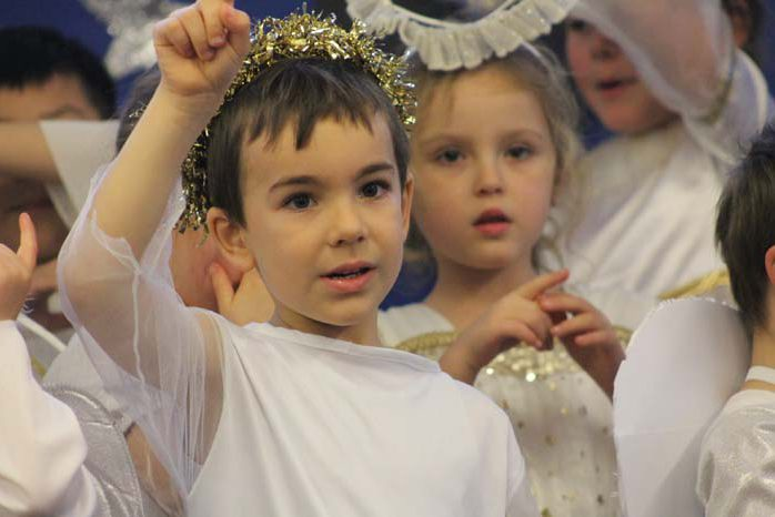 Sacred Heart School Nativity 2017
