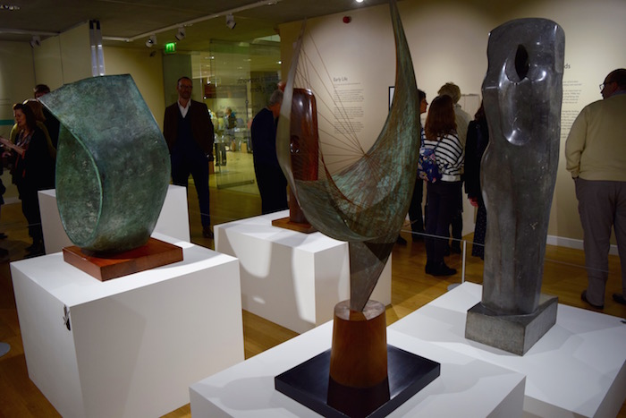 Barbara Hepworth Finding Form Opening At River & Rowing Museum