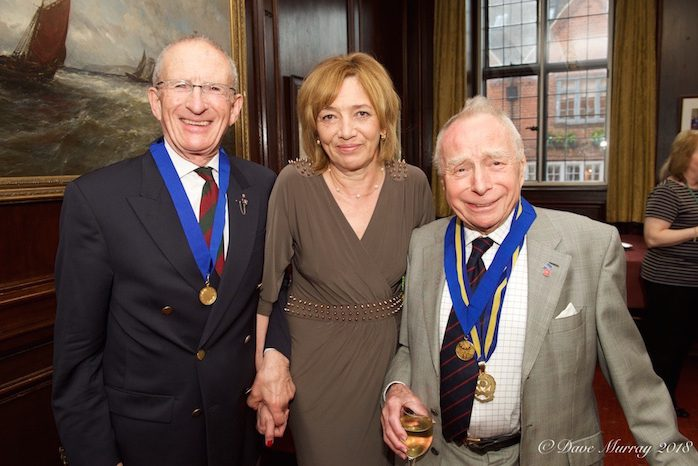 2018 Henley Town Medals Dick Charlton John Green Alfie Hay