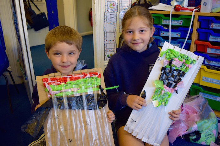 St Mary's Preparatory School Reduce Reuse Recycle Plastic Day