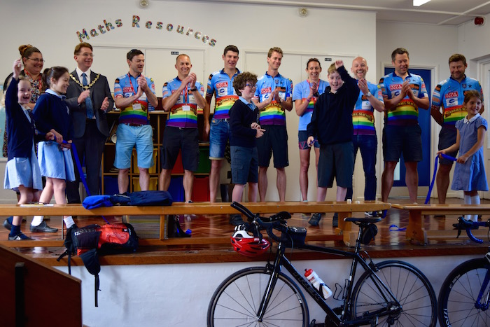 Henley To Paris Cyclists Open Trinity Discover Hub