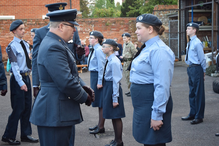 Henley 447 Air Cadets Annual Inspection