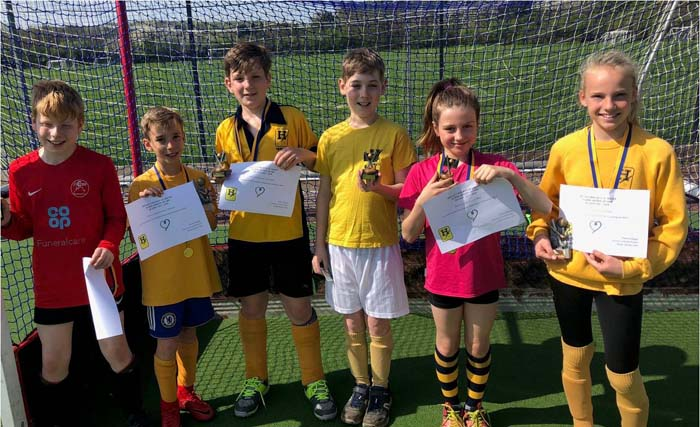 hockey club honour youngsters with awards henley herald