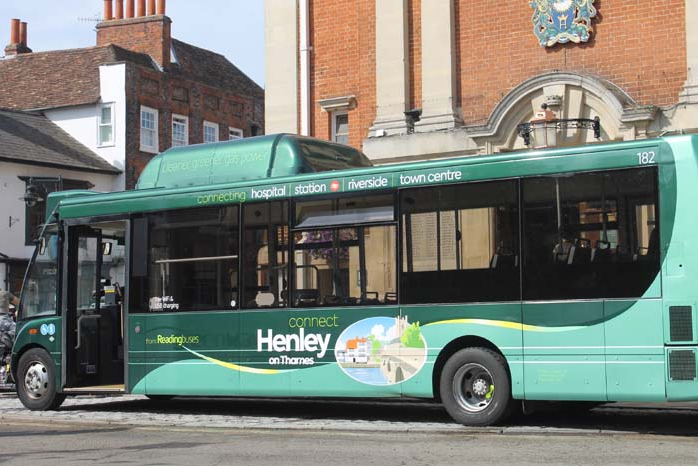 Standing Room Only On First New Bus Service Ride Henley
