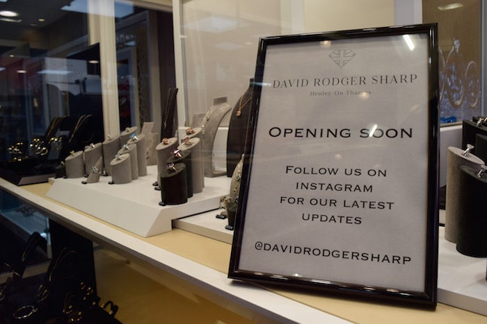 New Retailers Henley High Street David Rodger Sharp Jewellers Whistles Clothing