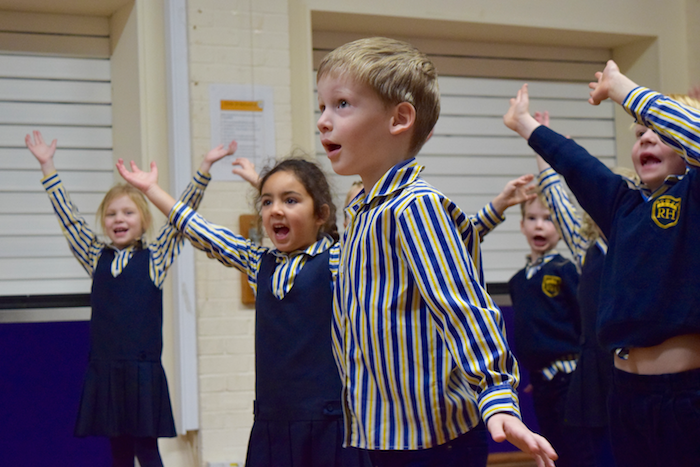 Rupert House School Celebrate Chinese New Year Of The Pig With West End In Schools