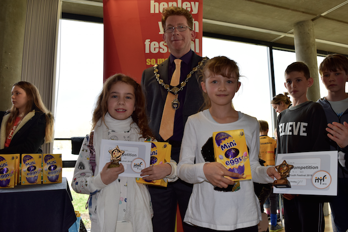 Henley Youth Festival 2019 Art Film Writing Competition Awards