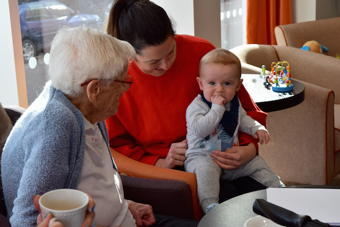 Fun For All Ages At First Chiltern Court Care Home Pre School Play Session